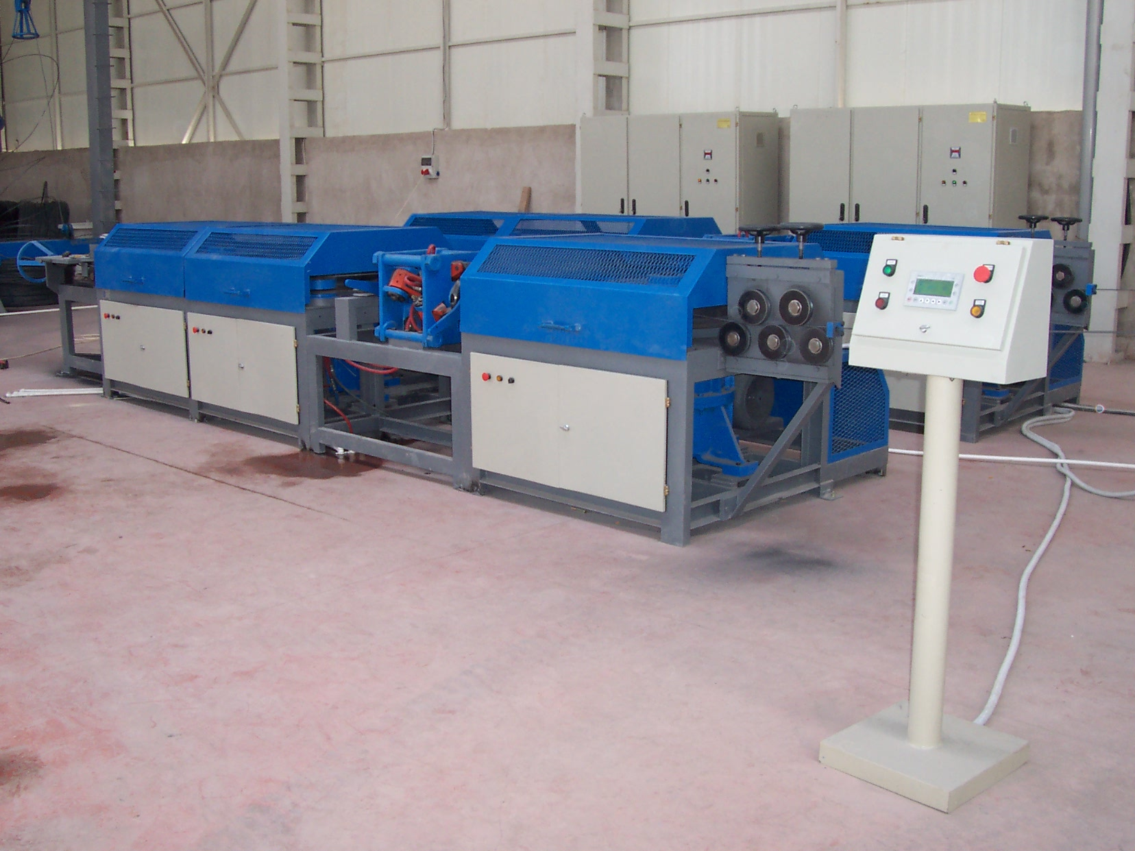 Wire Drawing and Ribbing Machines